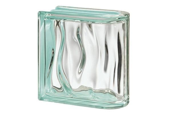 Mattoni di vetro Bormioli Rocco Agua Caribe