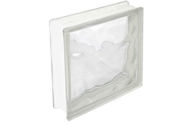 Mattoni di vetro Nuvola trasparente Stamplast