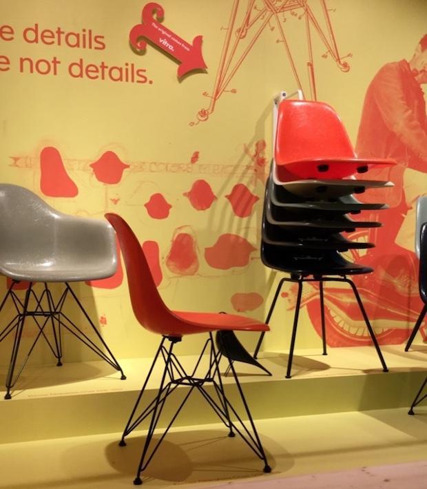 Fiberglass Chair, Vitra