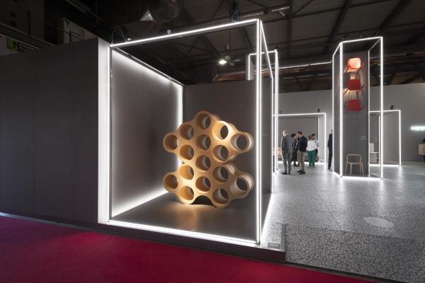 Salone del mobile 2018, stand Cappellini
