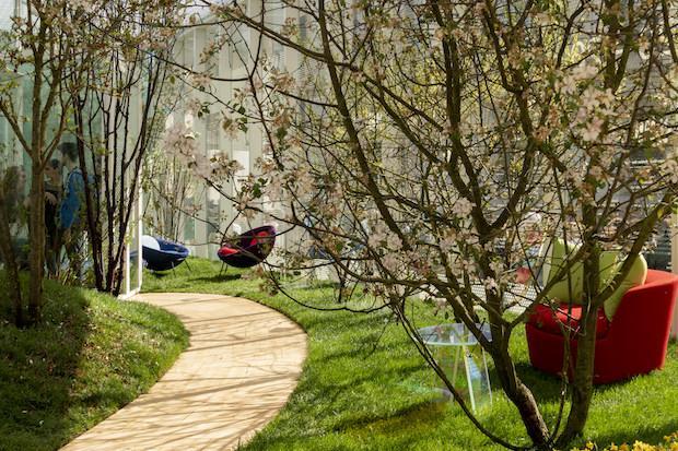 Living Nature: installazione area primavera