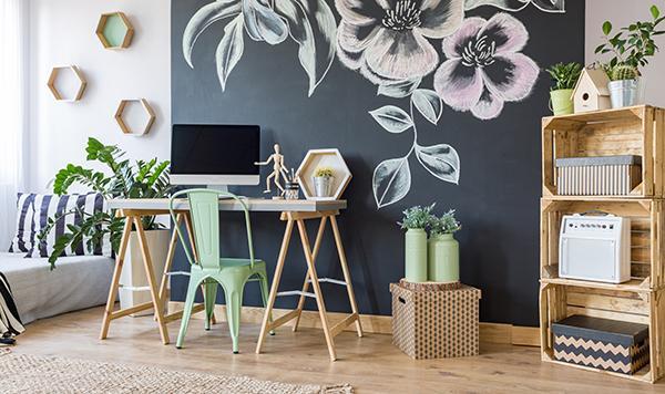Home relooking con mobili ed elementi di recupero