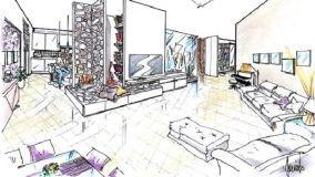 Soluzioni progettuali per arredare una zona giorno open space