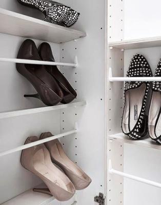 Vani interni della scarpiera Linear di Birex