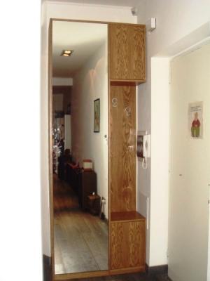 Scarpiera armadio a specchio, di Falegnameria Conca
