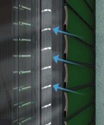 Tapparella alluminio aria-luce dettaglio - Faidacasa