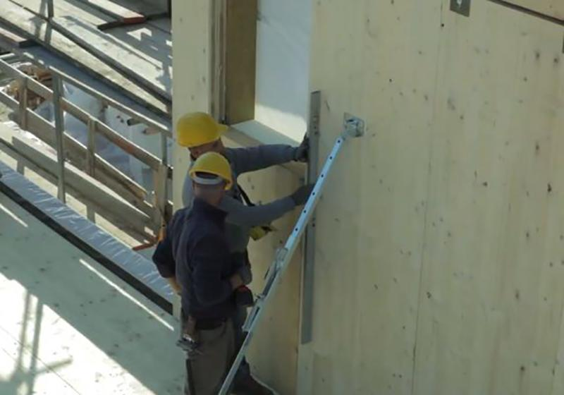 Applicazione su sistema di legno