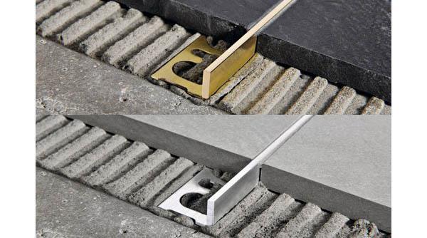 Accostare pavimenti differenti in corrispondenza di una soglia