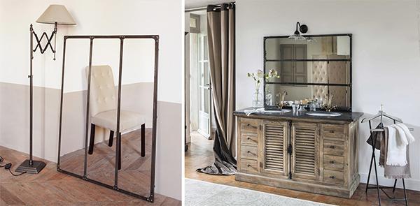 Specchio Cargo di Maisons du Monde