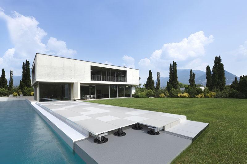 Rifacimento terrazzi con le soluzioni Progress Profiles