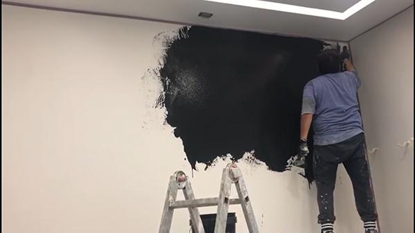 Pittura effetto pietra spaccata
