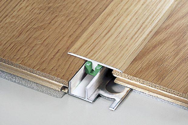 Giunto di dilatazione per pavimenti in legno UNISYSTEM® PLUS