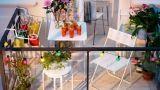 15 idee per arredare un balcone piccolo con orginalità