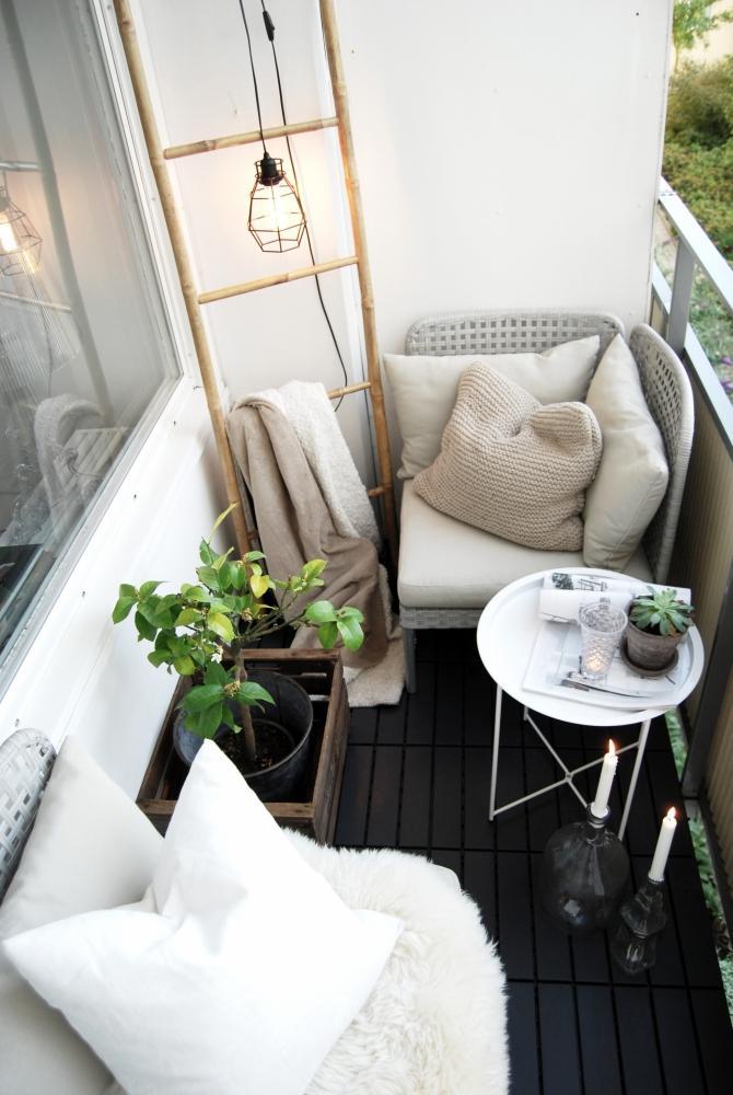 Foto - 15 idee per arredare un balcone piccolo con orginalità