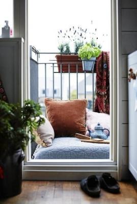 Il balcone ideale per chi ha un animo freak, da myparadissi.com