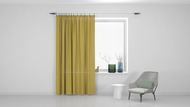 Ready Made Curtain, la tenda configurabile in base al proprio gusto, da Kvadrat