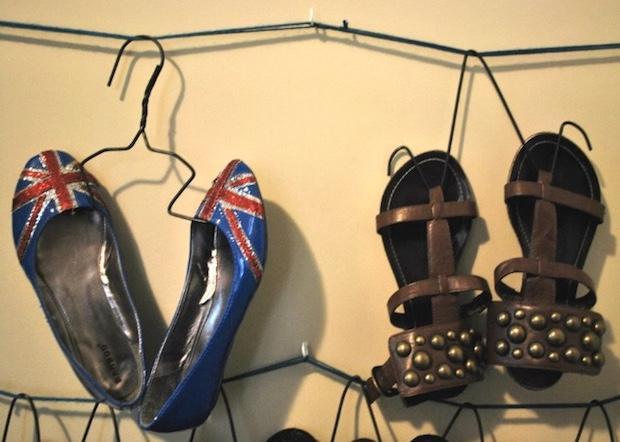 Grucce per appendere le scarpe, heywandererblog.com