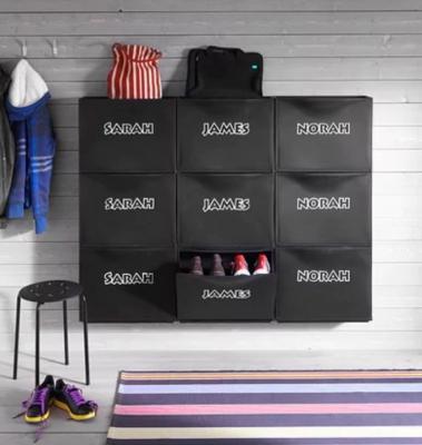 Scarpiera flessibile e modulare, da Ikea