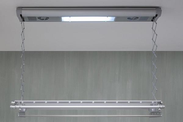 Stendibiancheria da soffitto elettrico