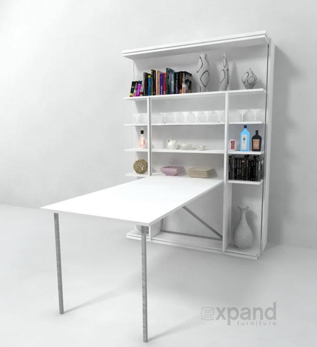 Compatto, il mobile trasformabile in base alle esigenze, da expand furniture