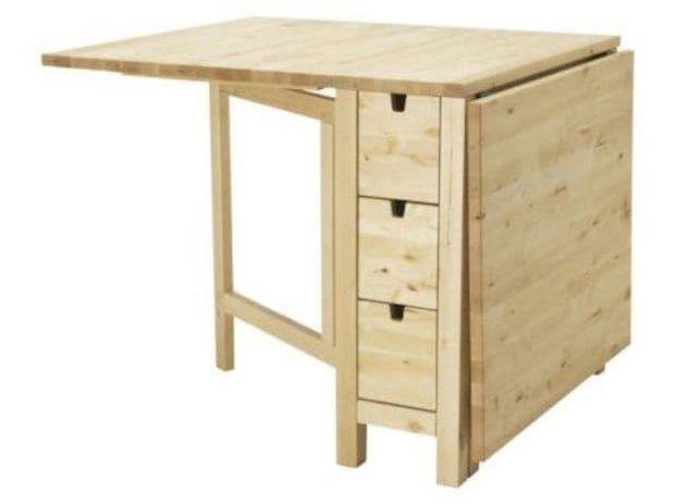 Tavolo trasformabile per ottimizzare gli spazi piccoli - Tavolo a ribalta ikea ...