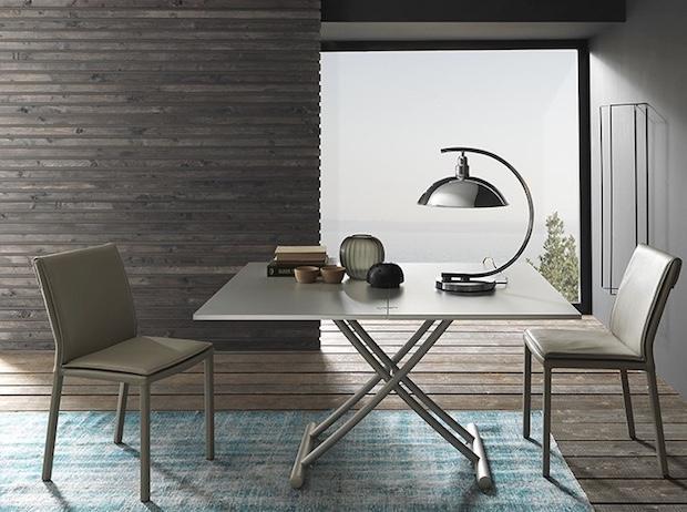 Tavolino trasformabile in tavolo da pranzo, da Altacom