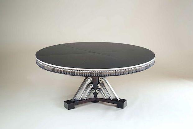Tavolo allungabile motorizzato, da Rossi