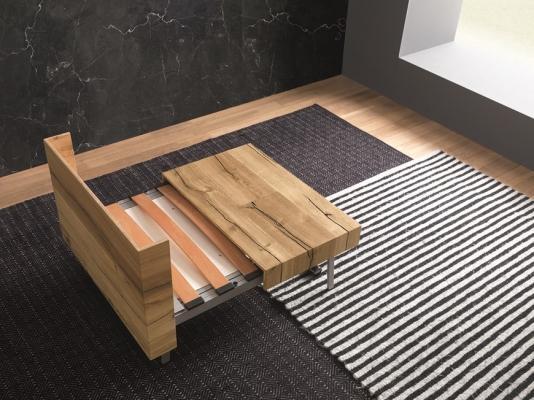 Tavoletto: il tavolo trasformabile in letto, da Altacom