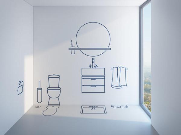 Progettare un secondo bagno for Progettare bagno ikea