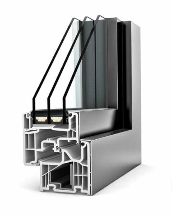 Infisso KF310 Home Pure Alluminio/PVC - Internorm