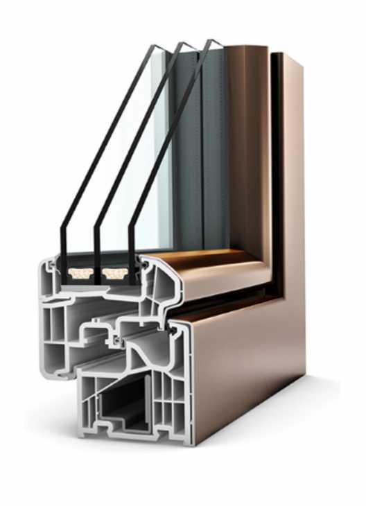 Infisso KF310 PVC/alluminio Stile Ambiente - Internorm