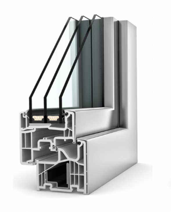 Infisso KF310 PVC/alluminio Stile Home Soft - Internorm