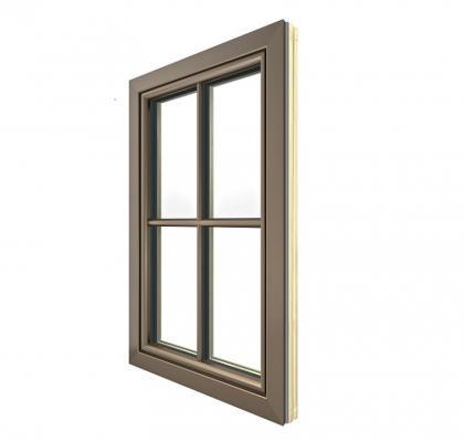 Finestra legno e alluminio HF 310