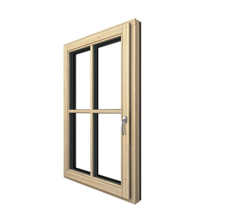 Finestra legno-alluminio Stile Ambiente
