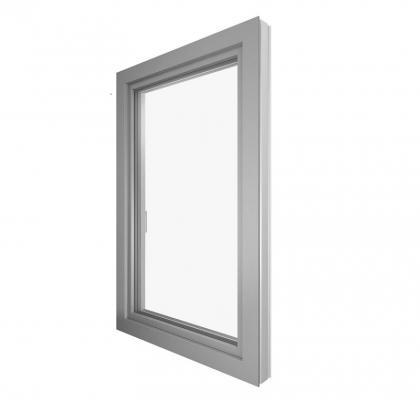 Finestra PVCe alluminio KF410