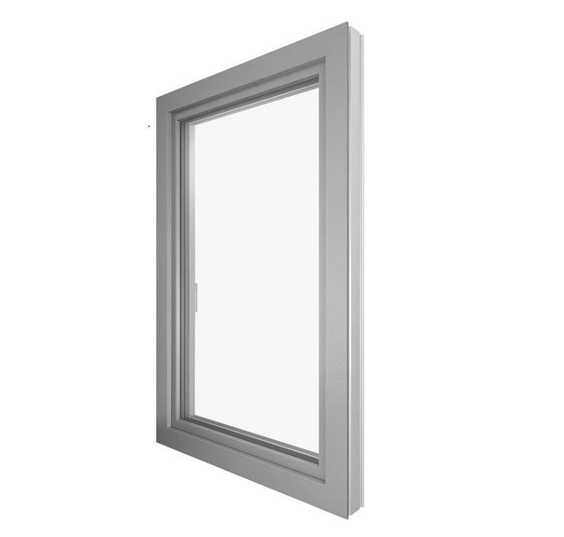 Finestra PVC-alluminio KF410