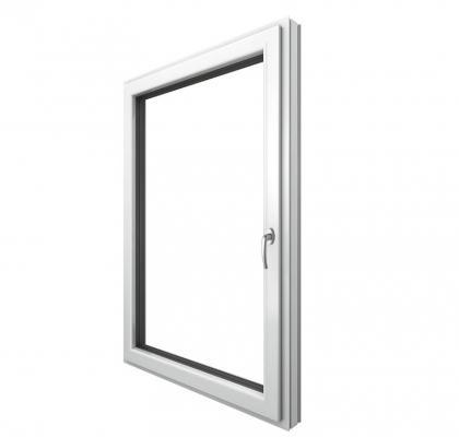 Finestra PVC e alluminio Stile Home soft