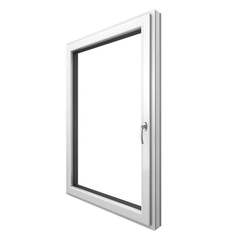 Finestra PVC-alluminio Stile Home soft
