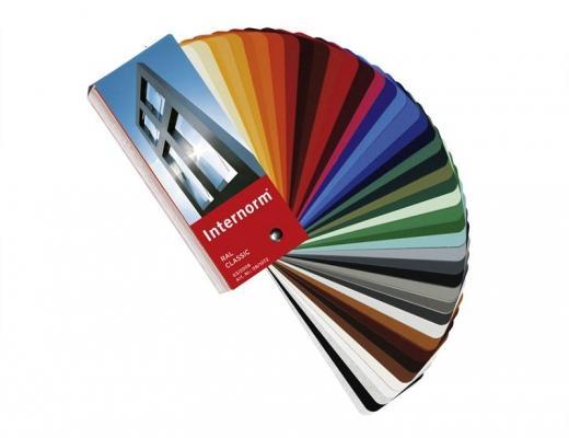 Gamma colori finestre guscio alluminio