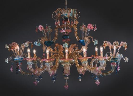 Lampadario Antico Con Angeli : Lampadari veneziani contemporanei