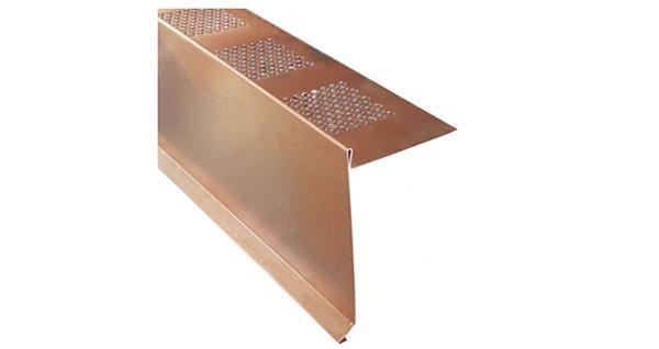 Scossalina protettiva per balconi con gocciolatoio integrato, di Lattoneriaonline