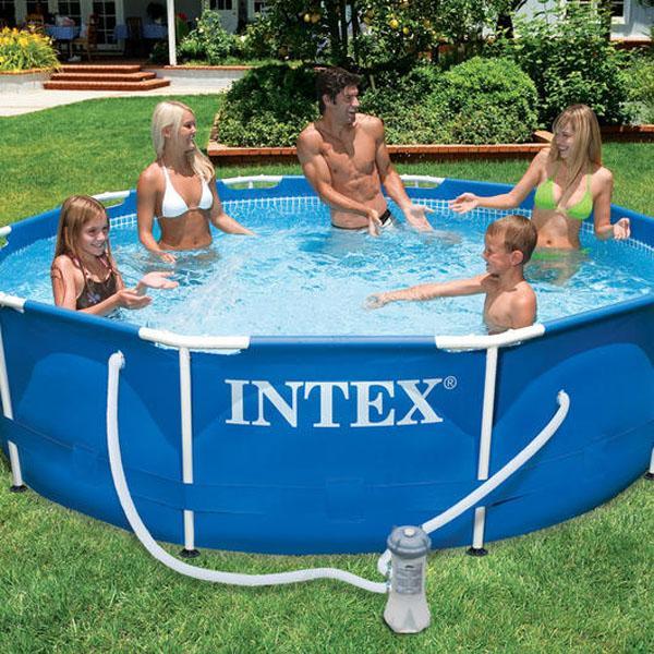 Piscina rotonda da esterno - Intex