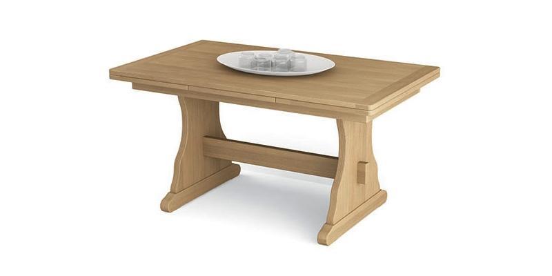 Tavolo legno massello allungabile di Scandola Mobili