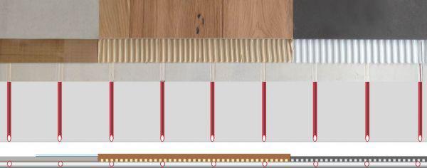 ISODOMUS per riscaldamento a pannelli radianti