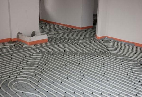 Impianto a pannelli radianti a pavimento, by ISODOMUS
