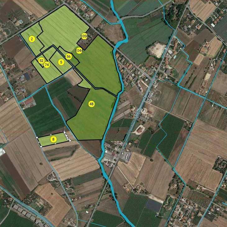 Mappe catastali online, individuazione dei confini con CATAMAPS