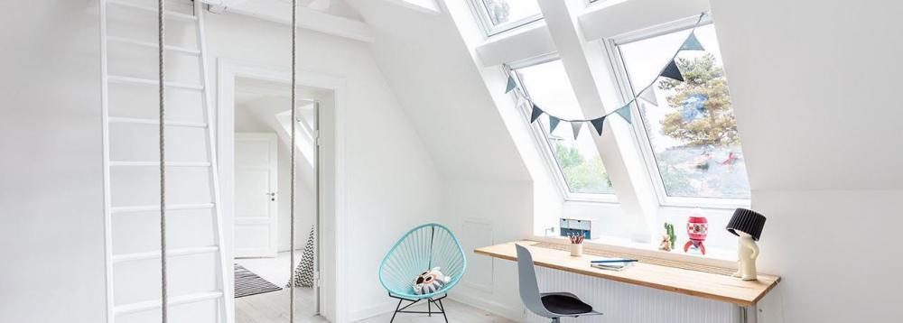 Illuminazione naturale in casa con le finestre Velux