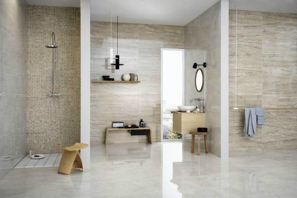 Bagno in gres porcellanato by Marazzi