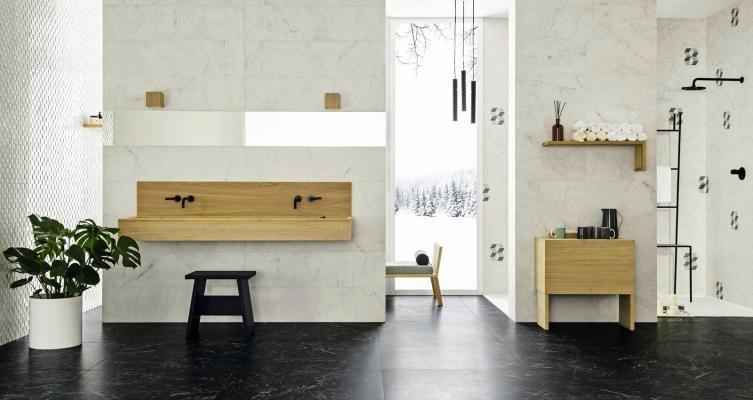 Bagno marmo modello Allmarble by Marazzi