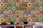 Decalcomanie piastrelle stile messicano Frida kahlo by Bleucoin
